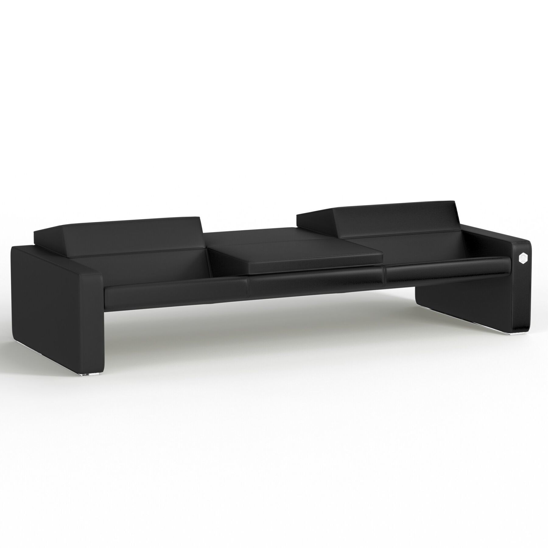 Трехместный диван KULIK SYSTEM SMART Экокожа 3