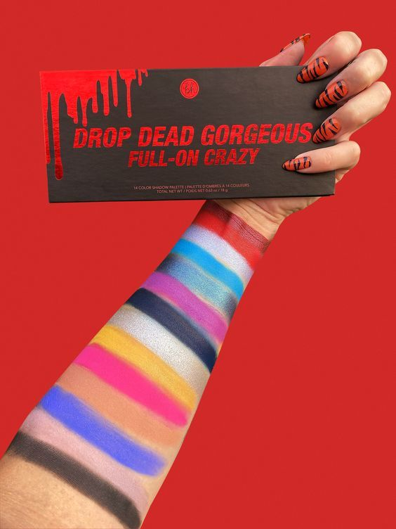 BH Cosmetics Drop Dead Gorgeous Full-On Crazy Palette