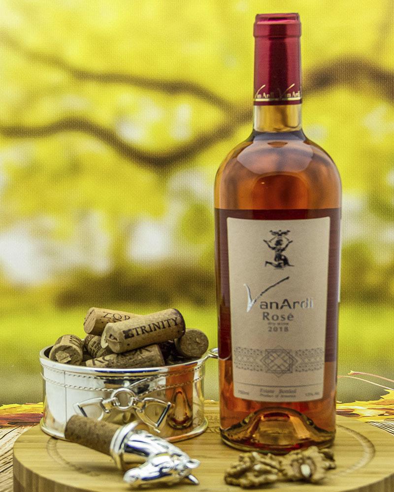 Вино Van Ardi Розовое Сухое 2018 г.у. 13% 0,75 л.