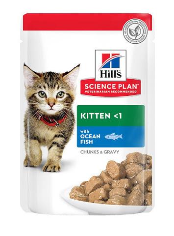 Hill's пауч для котят (океаническая рыба) 85г