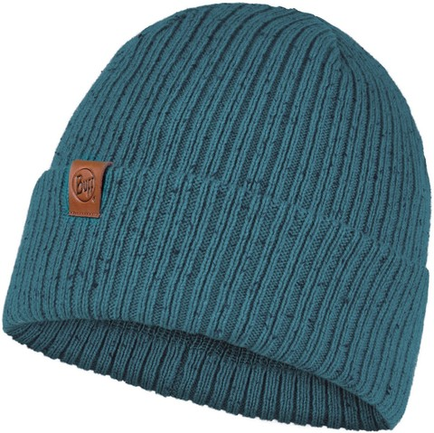 Вязаная шапка Buff Hat Knitted Kort Dusty Blue фото 1