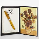 Visconti Van Gogh желтая смола отд хром корпус 18гр (Vs-785-20)