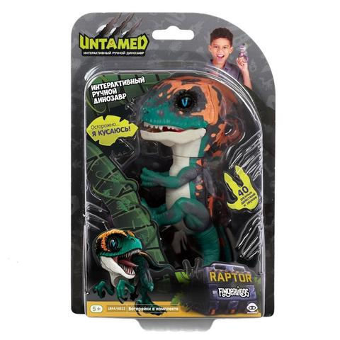 Интерактивный Untamed dino Fingerlings Фури зеленый