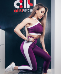 Женский топ Ryderwear Empire Mesh Sports Bra - Purple