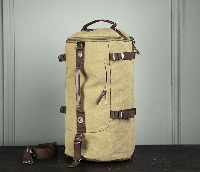 BAG309-3 Мужская сумка сумка рюкзак из плотного текстиля фото 03