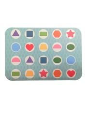 Развивающая игра на запоминание SHAPES PUZZLE Girl Серия Memory game в жестяной коробке