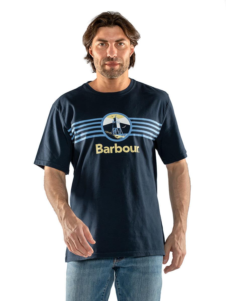 Barbour футболка Herd Tee MTS0674/NY91