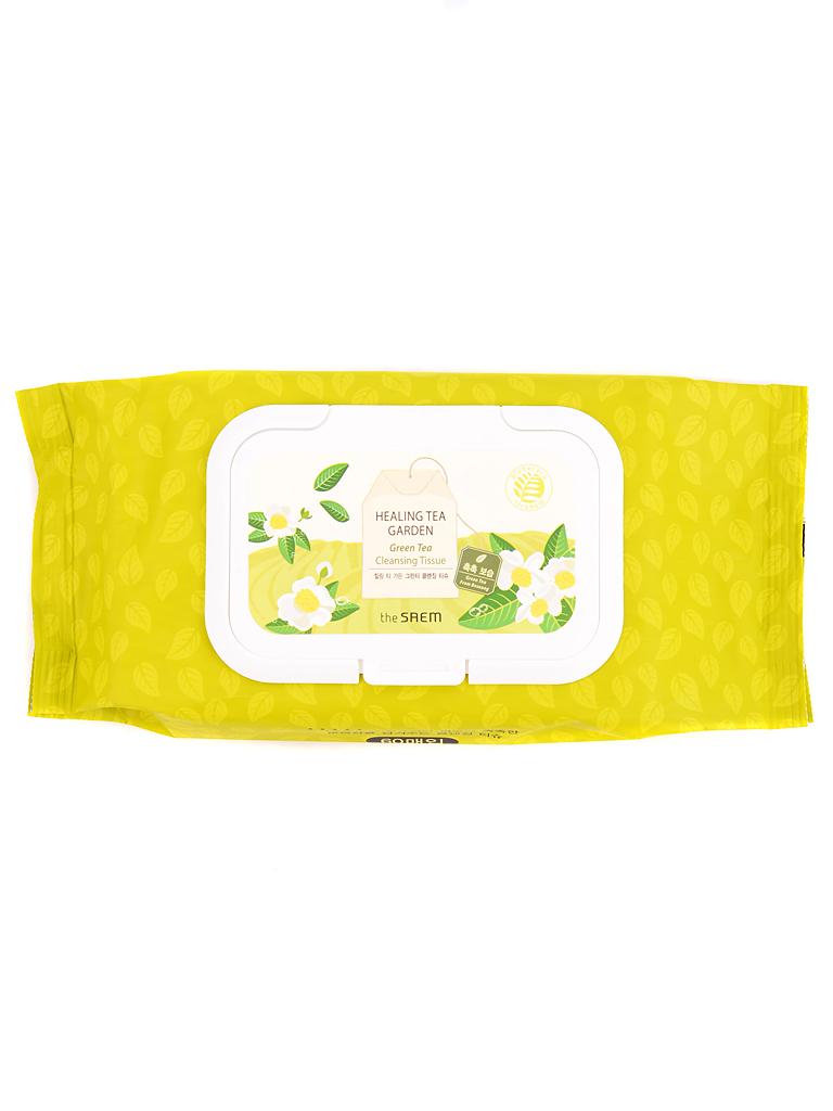 Салфетки очищающие Салфетки очищающие с экстр. зелен. чая Healing Tea Garden Green Tea Cleansing Tissue i19978_1484602914_10.jpg