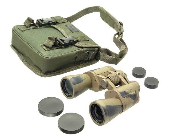 Комплект: бинокль БПЦ 16 50 VR, сумка и крышки