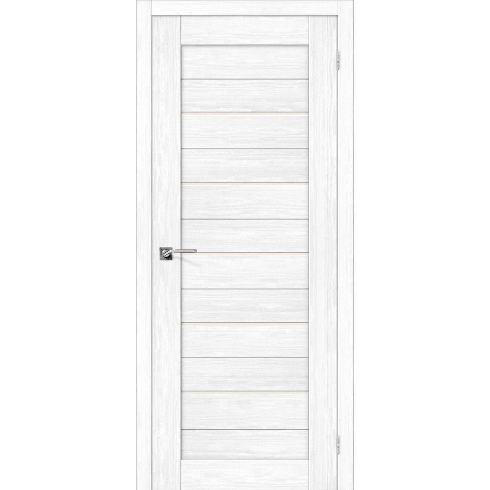 Двери экошпон Межкомнатная дверь экошпон El Porta Порта-22 snow veralinga остеклённая eko-porta-22-snow-veralinga-magic-fog-dvertsov-min.jpg