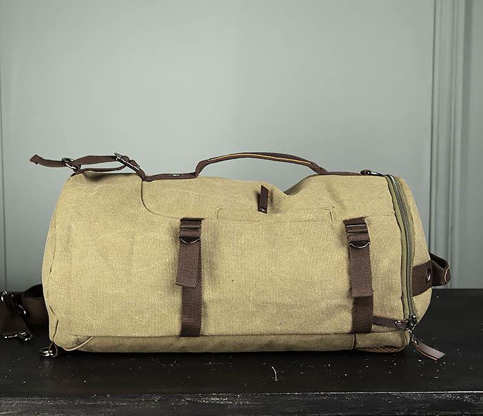 BAG309-3 Мужская сумка сумка рюкзак из плотного текстиля фото 04
