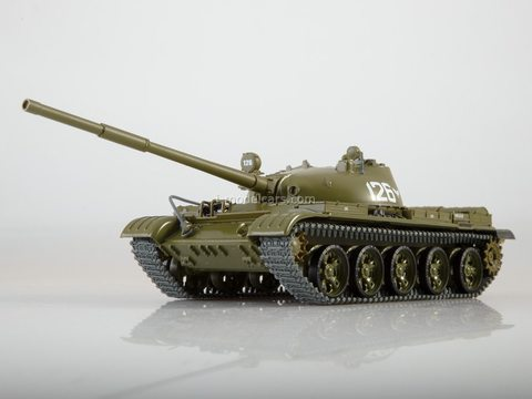 Tank T-62 Our Tanks #31 MODIMIO Collections 1:43