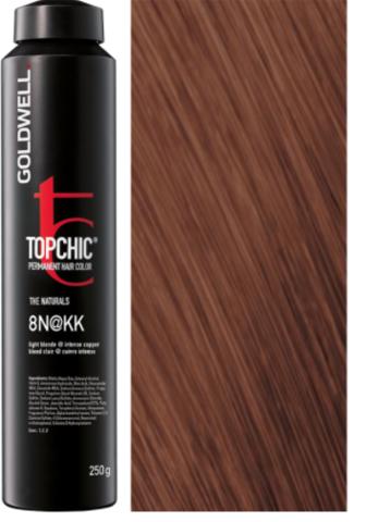Topchic 8N@KK - светлый блонд с интенсивно-медным сиянием (теплая медь) TC 250ml