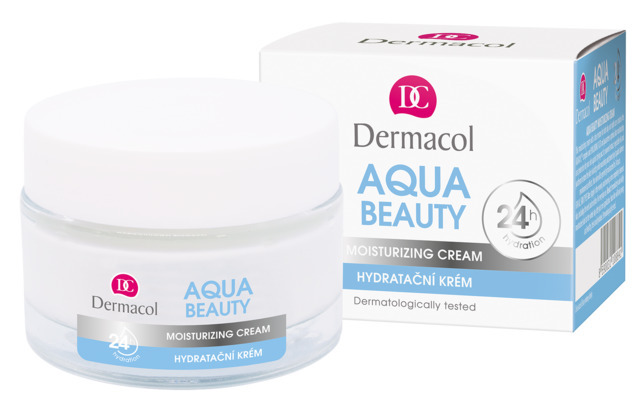 Dermacol Aqua Beauty Увлажняющий крем день/ночь с экстрактом водорослей и гиалуроновой кислотой, 50мл