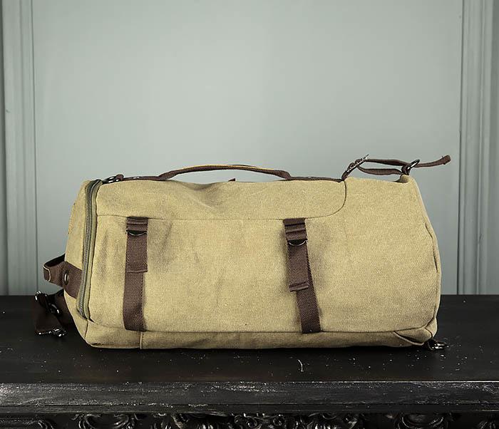 BAG309-3 Мужская сумка сумка рюкзак из плотного текстиля фото 05