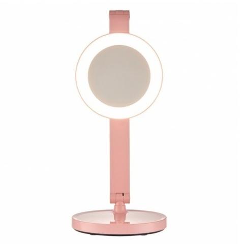 Светодиодная настольная лампа Camelion KD-824C14 розовый