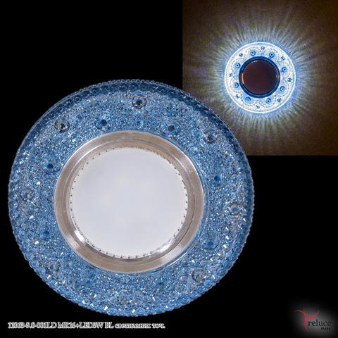 11063-9.0-001LD MR16+LED3W BL светильник точ.