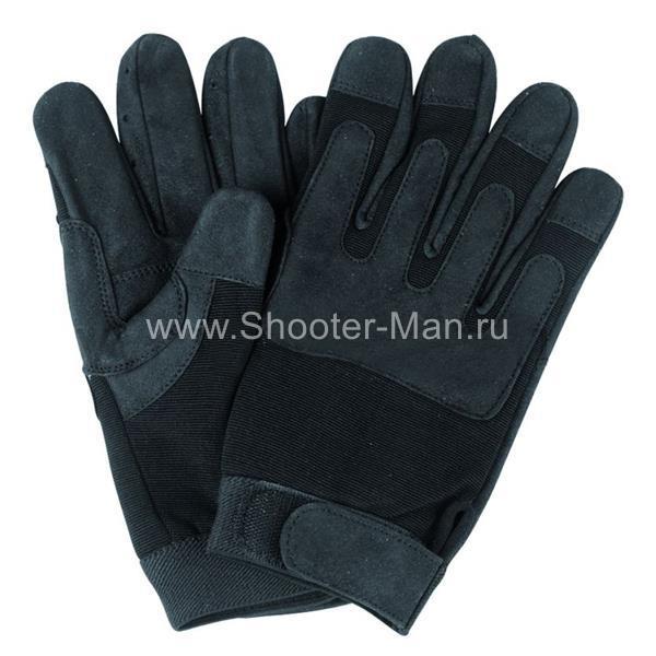 Армейские перчатки Miltec by Sturm черные фото