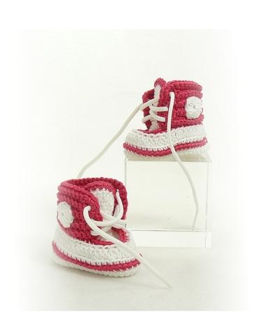 Вязаные кеды - Розовый. Одежда для кукол, пупсов и мягких игрушек.