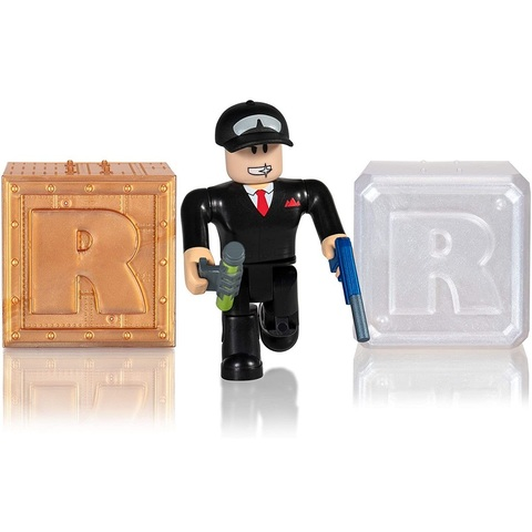 Роблокс Экшн-коллекция Побег из Тюрьмы: Секретный Агент и 2 Кубика Мистери