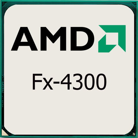 процессор AMD S-AM3+ FX-4300 (3,8GHz/4,0GHz)4C/4Th 4mb Cache oem