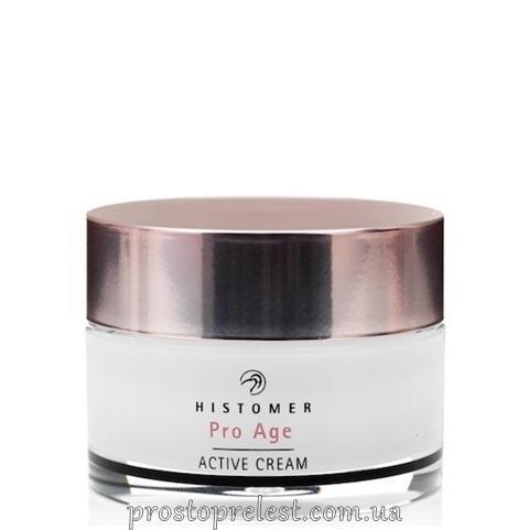 Histomer Hisiris Pro Age Active Cream SPF10 - Крем активний