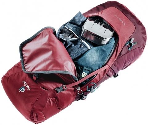Картинка рюкзак туристический Deuter Futura 26 Black - 6