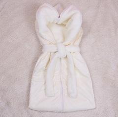 Демисезонный конверт - спальник Снежок (айвори)