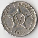 K8414, 1946, Куба, 5 сентаво