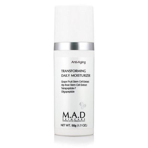 Крем увлажняющий дневной предупреждающий старение кожи M.A.D Skincare Anti-Aging Transforming Daily Moisturizer, 50 мл.