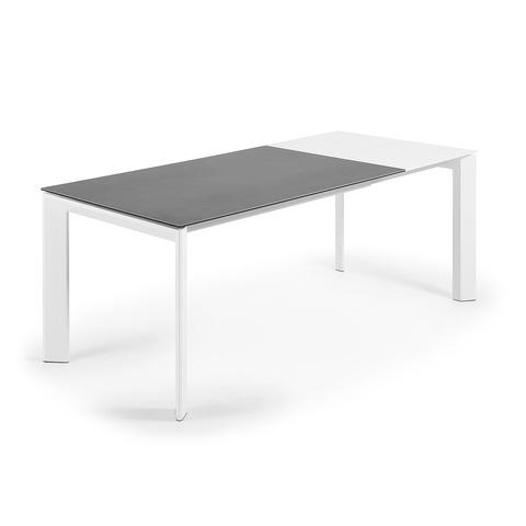 Стол Atta 140 (200) x90 белый керамический