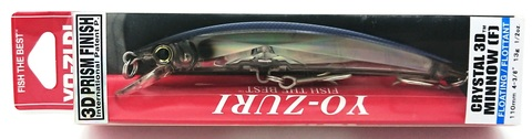 Воблер Yo-Zuri Crystal 3D Minnow 110 F / F1146-B