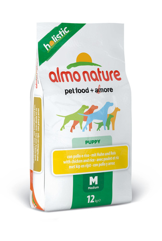 Сухой корм Almo Nature Holistic - Medium Puppy&Chicken