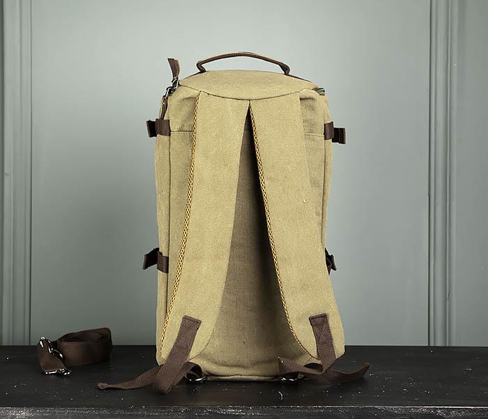 BAG309-3 Мужская сумка сумка рюкзак из плотного текстиля фото 07
