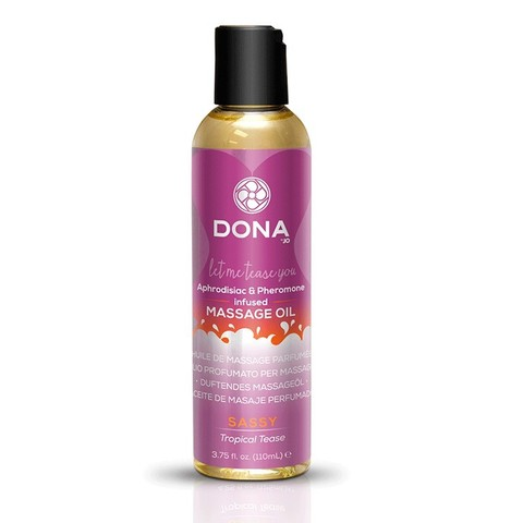 Массажное масло Dona Sassy - Tropical Tease