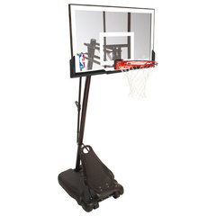 """Стойка мобильная баскетбольная Spalding Gold 54"""" акрил"""