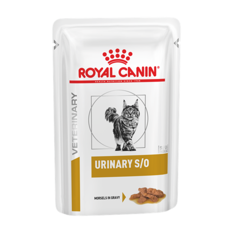 Royal Canin Urinary S/O Консервы для кошек при заболеваниях дистального отдела мочевыделительной системы, кусочки в cоусе