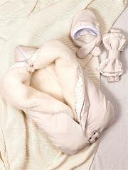 СуперМамкет. Конверт-одеяло всесезонное Мультикокон ®, Soft, кремовый вид 6