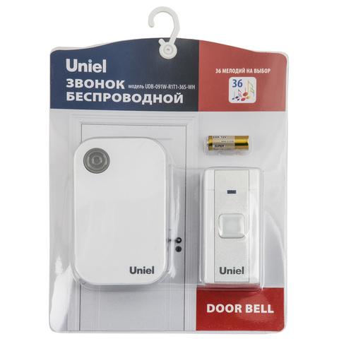 Uniel Звонок UDB-091W-R1T1-36S-WH