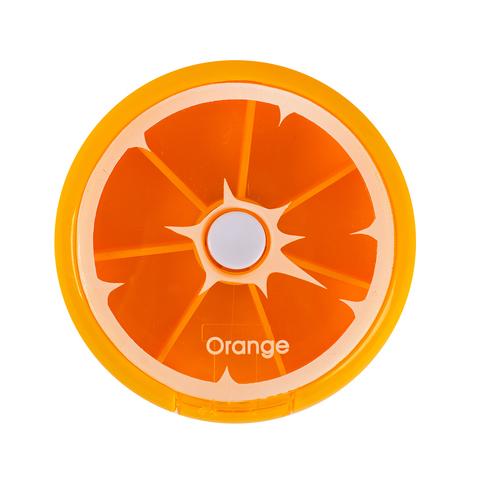Таблетница (футляр для таблеток) Orange
