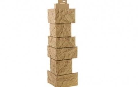 Наружный угол Fineber Камень дикий 485х143 мм
