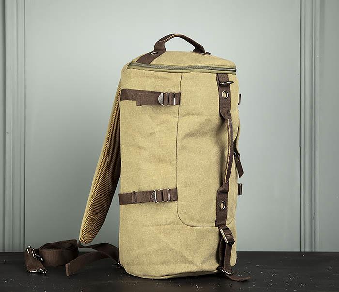 BAG309-3 Мужская сумка сумка рюкзак из плотного текстиля фото 08