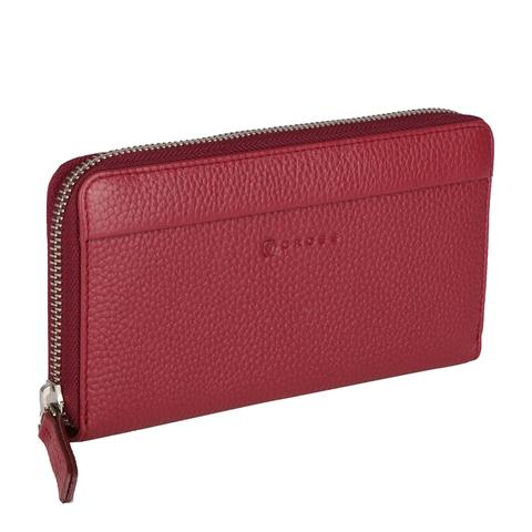 Бордовый кошелёк женский 20х10х2см Colors Burgundy CROSS AC3138287_5-126