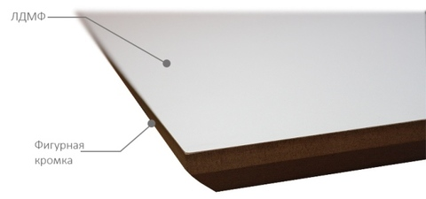 Столешница из ЛМДФ 900*900 мм