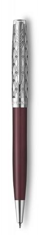 Шариковая ручка Parker Sonnet Premium Refresh RED, цвет чернил Мblack, в подарочной упаковке123