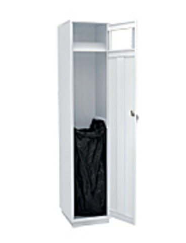 Шкаф одностворчатый для грязной одежды - фото