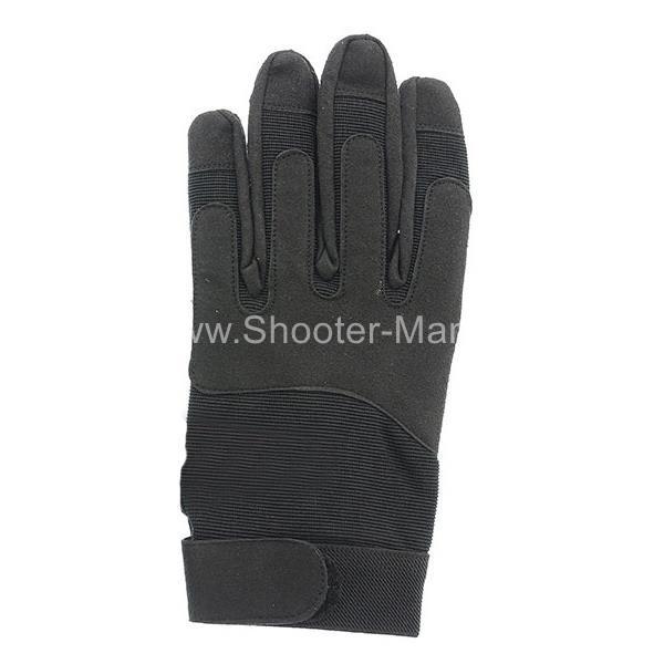 Армейские перчатки Miltec by Sturm черные 12521002 фото