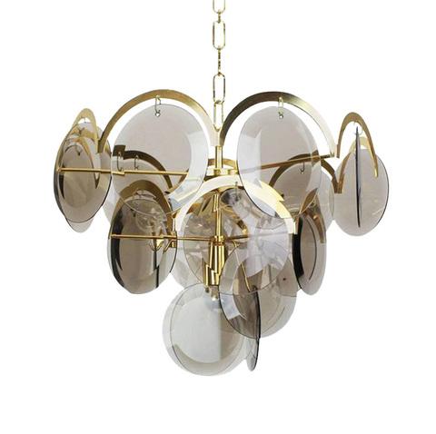 Подвесной светильник Four-tier by Vistosi (дымчатый)