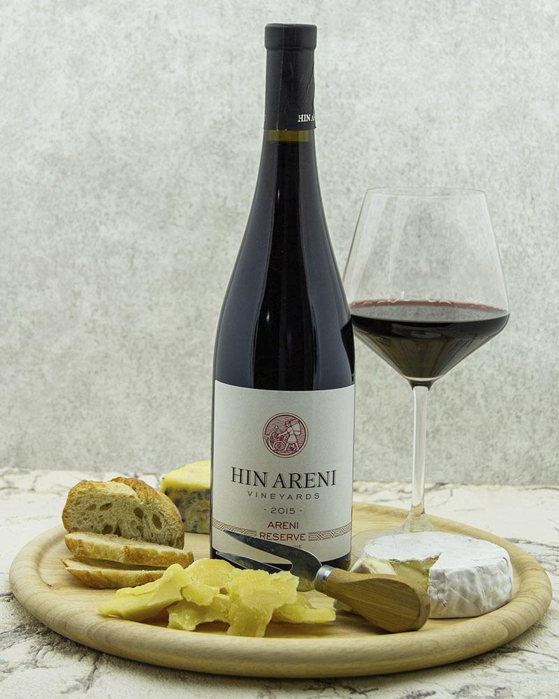 Вино Hin Areni Красное Cухое Резервное 2015 г.у. 14,8% 0,75 л.