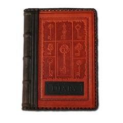 Ежедневник кожаный в стиле 19 века модель 43